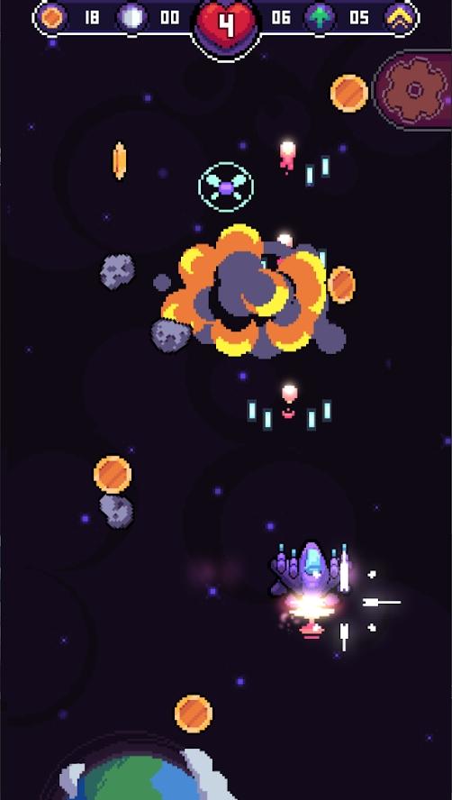 迪尼尼奥太空冒险游戏截图
